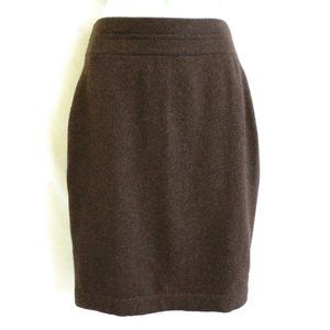 TSE Skirt Pure Cashmere Pencil Stretch Lined S